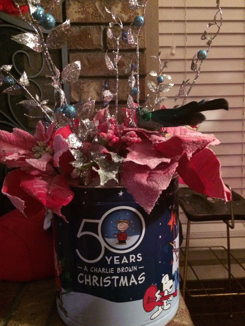 Christmas Flower Pot '16
