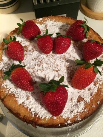 Victoria Sponge Cake from Top-Unedited