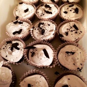 Edited Cookies N Cream Cupcakes