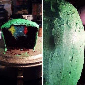Edited Peekaboo St. Patrick's Day Cake