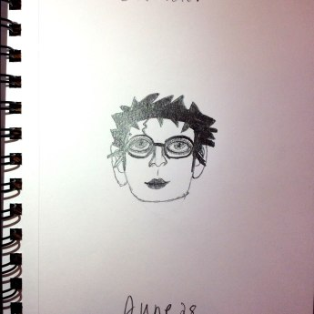 June 28 A Book Character (Harry Potter{where are my fellow potter-heads})