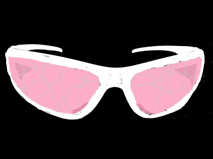 Shattered Rose Colored Glasses