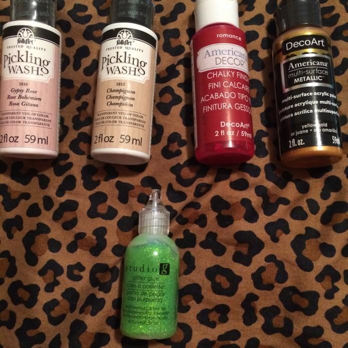 Paint & Glitter Glue