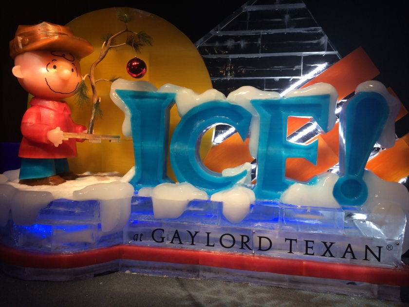 Ice Entrance Sign