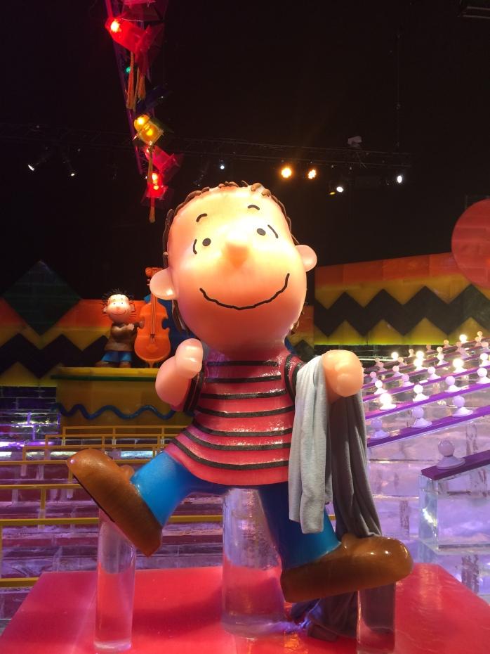 Linus dancing at rehearsal