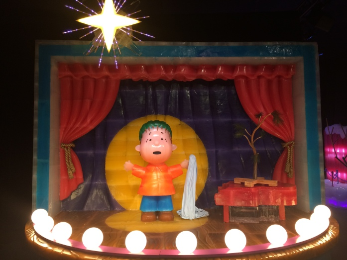 Linus speaking about the true meaning of Christmas