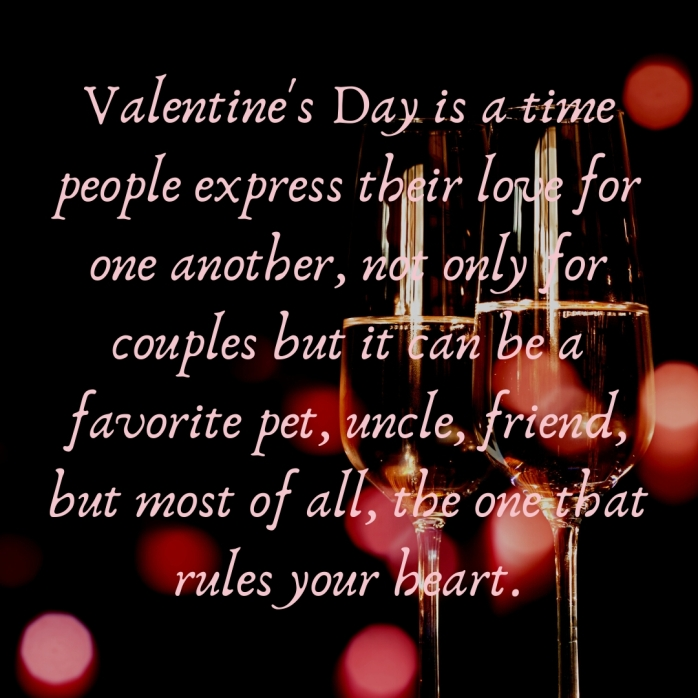 2nd Instagram of Valentine's Day is a time a people expressed their love for one another, not only for couples but it can be a favorite pet, uncle, friend, most of all the one that rules your hear